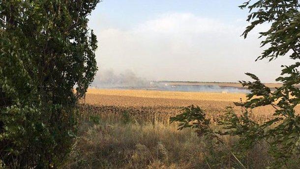 Произошел взрыв на складах с боеприпасами. Фото: ГУ Нацполиции в Донецкой области