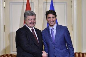 Совместное заявление Порошенко и Трюдо: полный текст