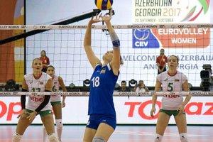 """Украинкам не хватило """"свежести"""" в битве с Болгарией на волейбольном Евро"""