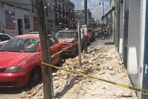 В Мексике произошло третье за месяц мощное землетрясение