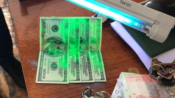 Доцент одного из вузов получила взятку. Фото: npu.gov.ua