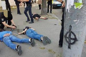 В Киеве поймали гастролеров из Грузии, пытавшихся ограбить квартиру