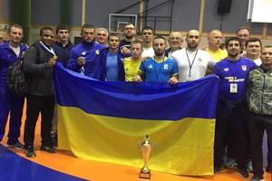 Украинцы стали вторыми на чемпионате мира по борьбе среди военных