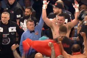 Чемпион WBO Джозеф Паркер победил Хьюи Фьюри