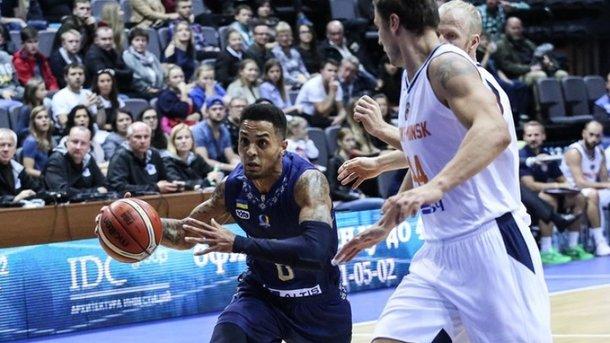 «Будивельнык» уступил белорусам вквалификации Лиги чемпионов— Баскетбол