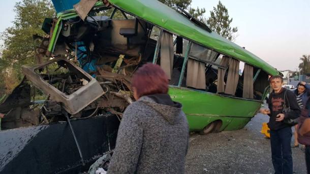 Масштабная авария наХарьковщине. Пострадали неменее 20-ти человек, есть тяжелые травмы
