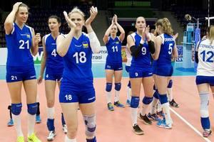 Сборная Украины покидает чемпионат Европы по волейболу