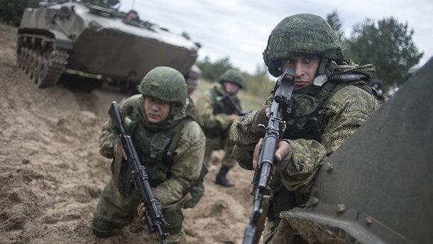 Русский спецназ высадился вМинске