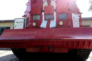 К тушению пожара возле Калиновки задействовали пожарные танки