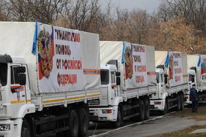"""Россия подготовила очередной """"гумконвой"""" для вторжения в Украину"""