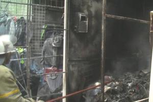 В Харькове горел крупнейший рынок Украины