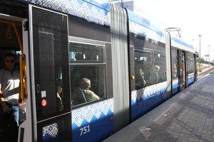 В Киеве закрывается одна из станций скоростного трамвая