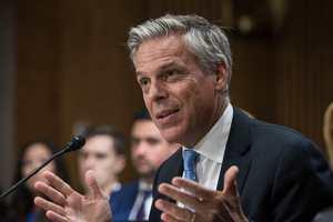 Сенат США утвердил Джона Хантсмана послом в России