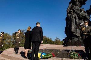 Это наша общая трагедия: Порошенко почтил память  жертв Бабьего Яра