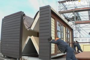 Дешевое жилье: в Украине появляются пенопластовые дома без фундамента