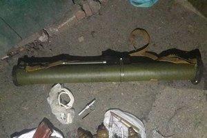 У бойца АТО в доме под Харьковом нашли арсенал