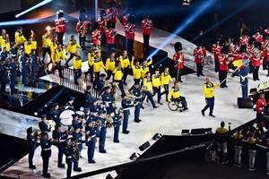 Закрытие Игр непокоренных 2017: появились яркие видео со сборной Украины