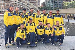 Игры непокоренных 2017: сборная Украины везет из Канады 14 наград
