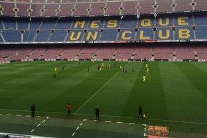 """""""Барселона"""" из-за страха потерять шесть очков решила сыграть с """"Лас-Пальмасом"""" без зрителей"""