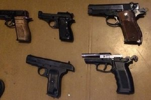 В Киеве у бывшего зэка нашли арсенал оружия в квартире