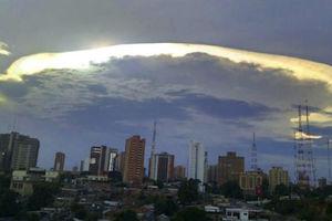 Небо над Венесуэлой украсили радужные облака