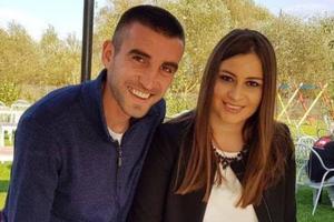 Защитник сборной Украины женился перед матчем с Украиной