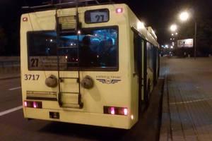 В Киеве изменится движение троллейбусов маршрутов №№22, 27, 30