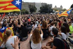 Массовая забастовка в Каталонии: как это выглядит