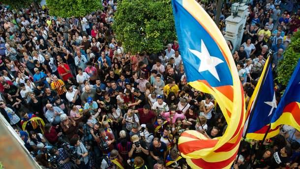 Король Испании не признал референдум в Каталонии