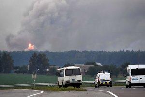 Из-за ЧП на артскладах Украина потеряла около 150 тысяч тонн боеприпасов