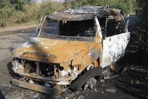 Покушение под Харьковом: в авто стреляли из гранатомета