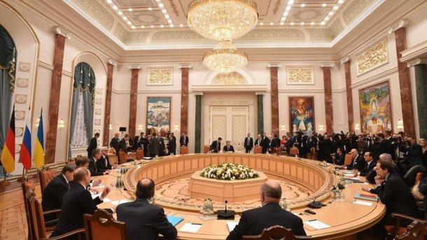 Рабочие подгруппы контактной группы поУкраине проводят переговоры вМинске