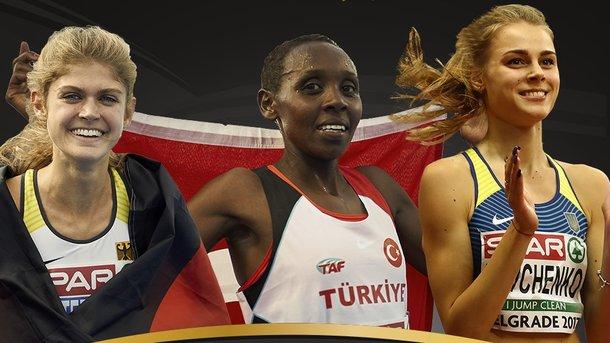Украинская легкоатлетка Левченко вошла втройку наилучших спортсменок Европы
