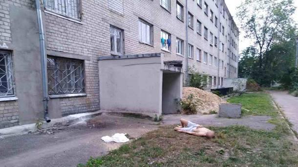 ВХарькове 21-летний парень выпрыгнул с5-го этажа