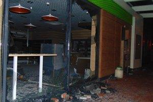 В Киеве во время столкновений у АЗС пострадали семь полицейских