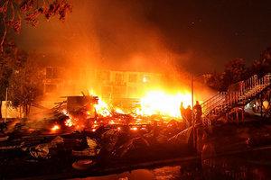 В России горит нефтеперерабатывающий завод, есть жертвы