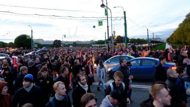 Наакциях протеста повсей Российской Федерации  задержаны 262 человека— ОВД-Инфо
