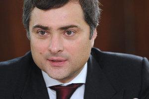 Сурков рассказал свою версию разговора с Волкером