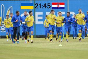 Поражение и ничья - не вариант! Онлайн матча Украина - Хорватия 0:2
