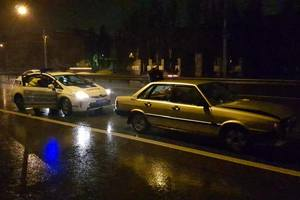 В масштабном ДТП в Киеве столкнулись пять авто, пострадала беременная женщина