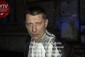 В Киеве пьяный таксист устроил ночные гонки с патрульными и пытался проглотить ключи