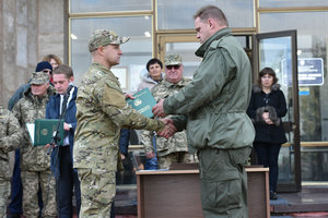 Первой в Украине День бойца территориальной обороны отметила Киевщина