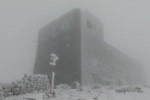 Высоко в Карпатах выпал снег