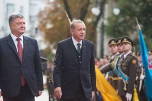Переговоры с Эрдоганом: Порошенко сделал заявление
