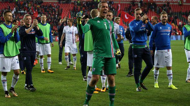 Сборная Исландии впервый раз пробилась начемпионат мира