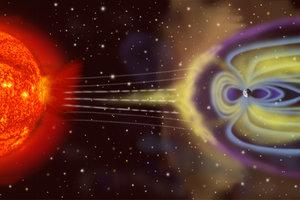 На Землю надвигается длительная магнитная буря