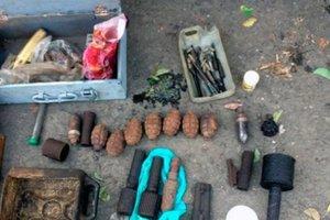 В Харьковской области полиция нашла в доме 89-летнего пенсионера арсенал оружия