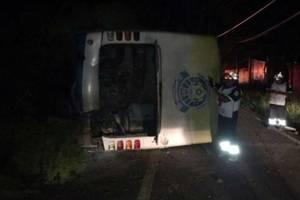 В Мексике автобус с командой попал в серьезное ДТП