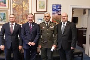 Посол Украины в США провел переговоры о предоставлении военной помощи