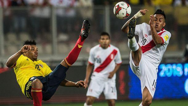 Футболисты сборных Перу и Колумбии признались в договорном матче